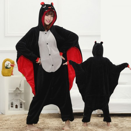 Bat Onesie for Women & Men Costume Onesies Pajamas Halloween Outfit