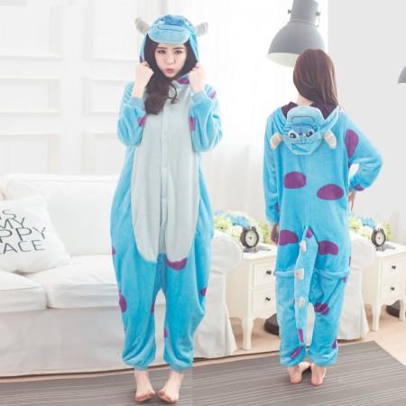 Sullivan Onesie for Women & Men Costume Onesies Pajamas Halloween Outfit