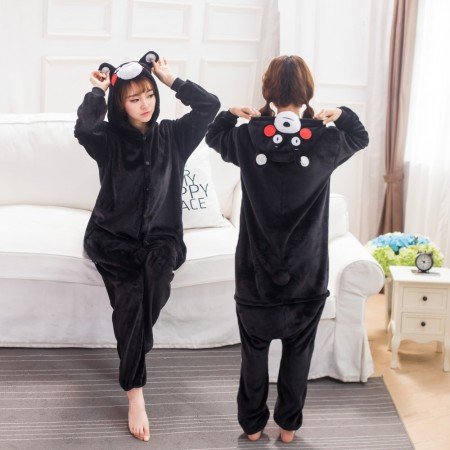 Kumamon Costume Onesie for Women & Men Pajamas Halloween Outfit