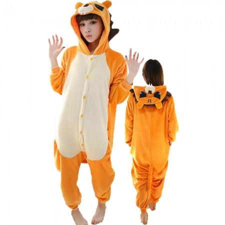 Lion Costume Onesie for Women & Men Pajamas Halloween Outfit