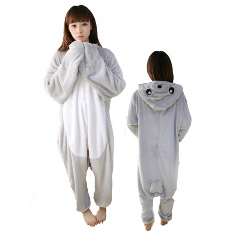Seal Costume Onesie for Women & Men Pajamas Halloween Outfit