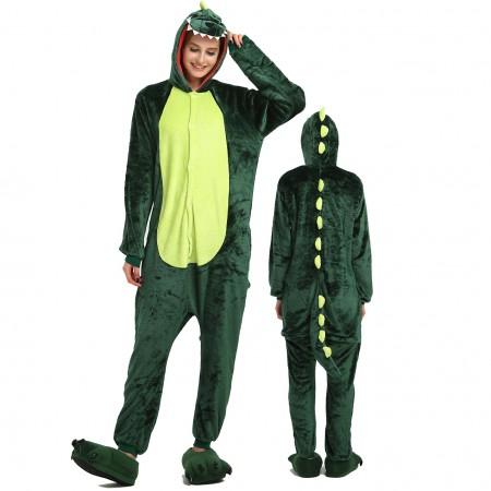 Women & Men Dinosaur Dragon Costume Onesies Pajamas for Halloween