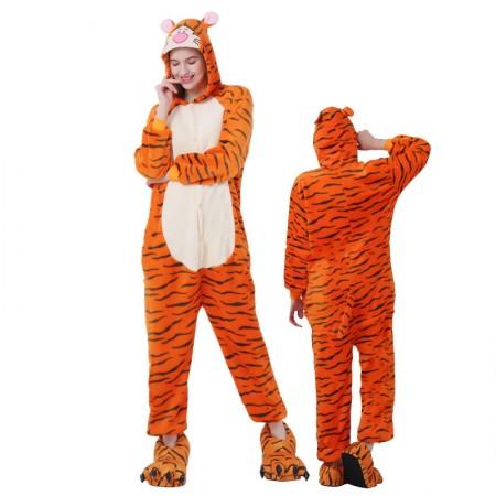 Tigger Onesie for Women & Men Costume Onesies Pajamas Halloween Outfit