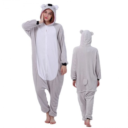 Koala Onesie for Women & Men Costume Onesies Pajamas Halloween Outfit