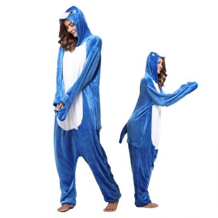Shark Costumes Onesie for Women & Men Costume Onesies Pajamas Halloween Outfit