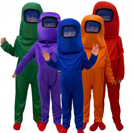 Kid Among Us Costume Halloween Outfit Cosplay Suit