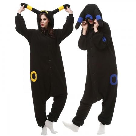 Pokemon Umbreon Onesies Costumes For Adults & Teens
