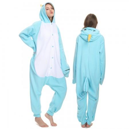 Narwhal Onesie Costume Pajama for Adult Women & Men Halloween Costumes