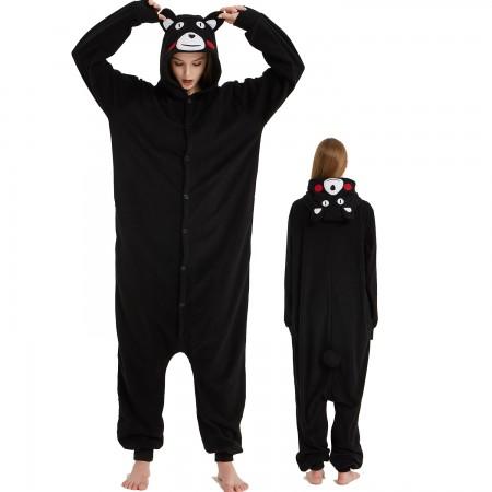 Kumamoto Onesie Costume Pajama for Adult Women & Men Halloween Costumes