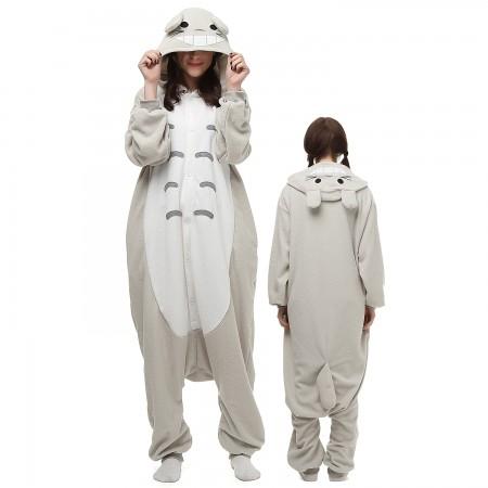 Totoro Costume Onesie Pajamas Adult Animal Onesie for Women & Men