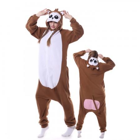 Monkey Costume Onesie Pajamas Adult Animal Costumes for Women & Men