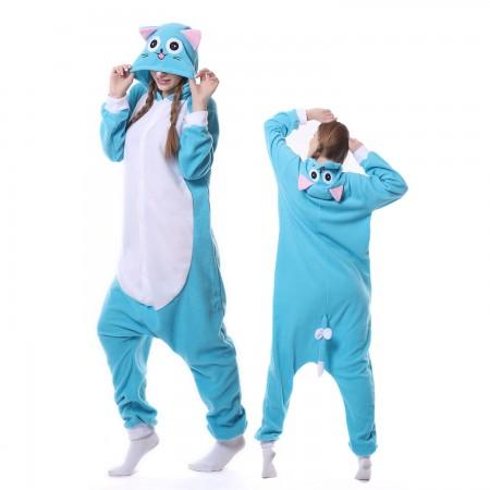 Habi Cat Costume Onesie Pajamas Adult Animal Costumes for Women & Men