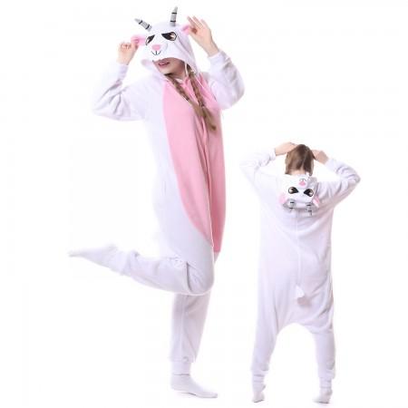 Goat Costume Onesie Pajamas Adult Animal Costumes for Women & Men