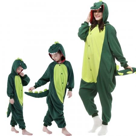 Green Dinosaur Onesie Costume  Animal Onesies for Adults & Kids