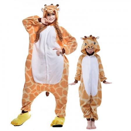Giraffe Onesie Costumes for Kids & Adults