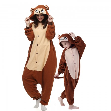 Monkey Onesie Costumes for Kids & Adults