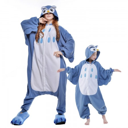 Owl Onesie Costumes for Kids & Adults