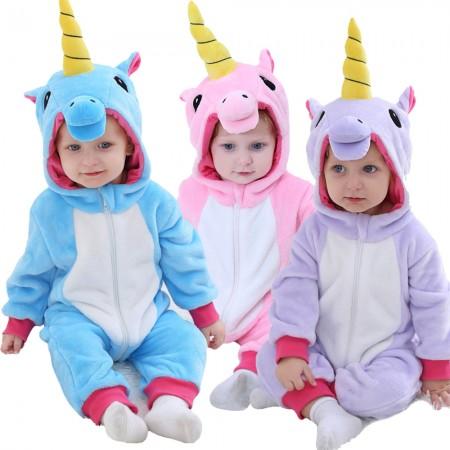 Toddler Unicorn Onesie Pajama Animal Costume for Baby Infant