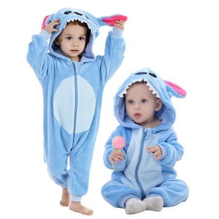 Stitch Onesie Pajama Toddler Animal Costume for Baby Infant
