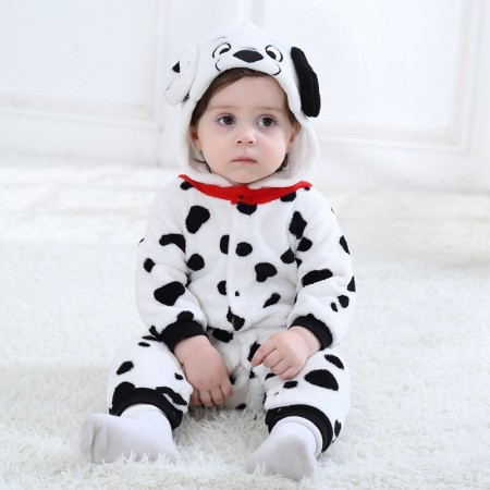 Spotted Dog Onesie Pajama Toddler Animal Costume for Baby Infant
