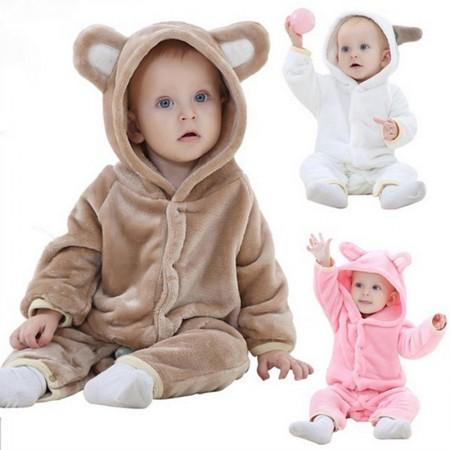 Baby Bear Onesie Pajama Animal Onesies Costume for Toddler Infant