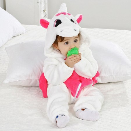 Baby Unicorn Onesie Pajama Animal Unicorn Costume for Toddler Infant