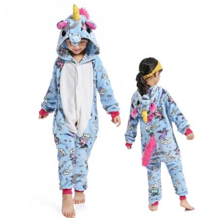 New Unicorn Onesie Costume Pajama Kids Animal Outfit for Boys & Girls
