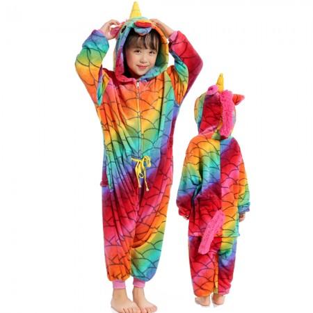 New Mermaid Unicorn Onesie Costume Pajama Kids Animal Outfit for Boys & Girls