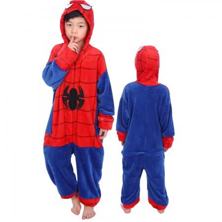 Kids Spiderman Onesie Costume Pajama Animal Outfit for Boys & Girls