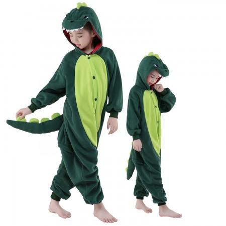 Kids Dinosaur Costume Onesie Pajama Animal Outfit for Boys & Girls