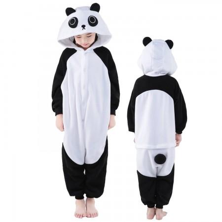 Kids Panda Costume Onesie Pajama Animal Outfit for Boys & Girls