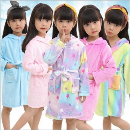 Kids Unicorn Bathrobes for Boys & Girls