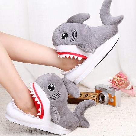 Cute Animal Slippers Shark Shoes for Adult