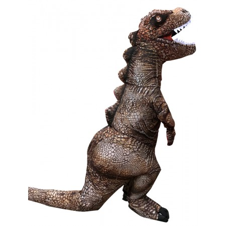 Adult Inflatable T Rex Costume Halloween Funny Blow Up Dinosaur Costumes Outfit