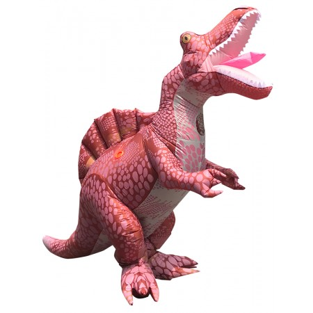 Adult Inflatable Dinosaur Costume Spinosaurus Halloween Fancy Dress Party Outfit