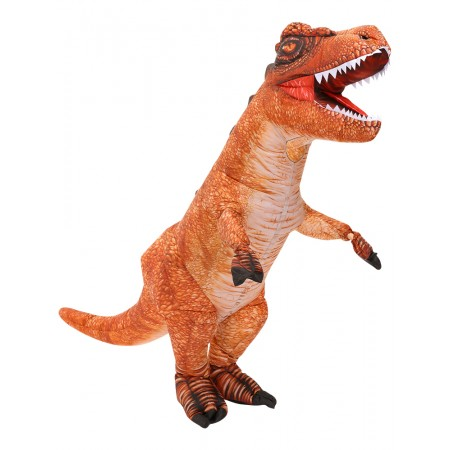 Blow Up Dinosaur Costumes Halloween Inflatable T Rex Dress Outfit