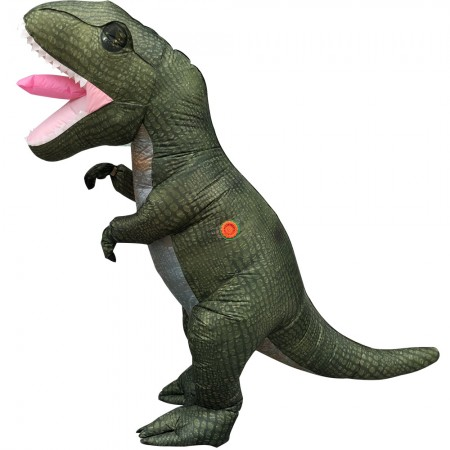 Adult Inflatable Dinosaur Costume Halloween Blow Up T Rex Costumes Fancy Dress Outfit