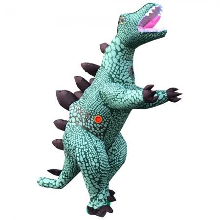 Inflatable Stegosaurus Costume Halloween Blow Up Dinosaur Fancy Dress Costumes