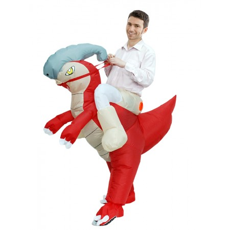 Adult Inflatable Horse Costume Halloween Blow Up Funny Costumes