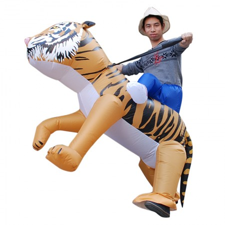 Inflatable Lion Costume Halloween Blow Up Funny Costumes For Adult