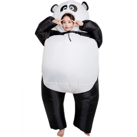Inflatable Panda Costume Halloween Blow Up Funny Costumes For Adult