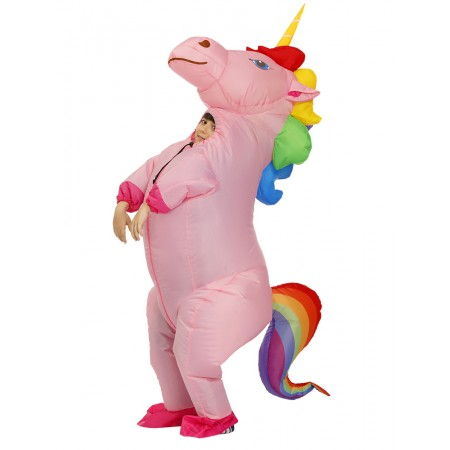 Kids Inflatable Unicorn Costume Halloween Blow Up Funny Costumes