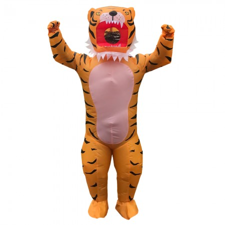 Inflatable Tiger Costumes Halloween Blow Up Funny Outfit